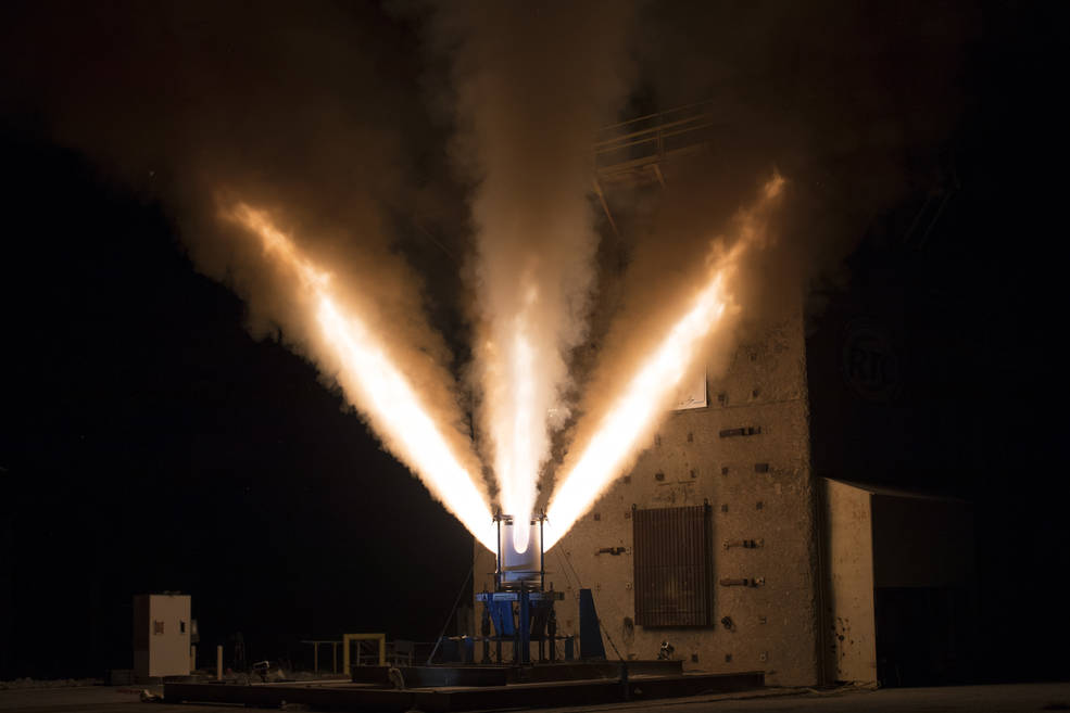 Aerojet Rocketdyne successfully tested the jettison motor on the Orion spacecraft.