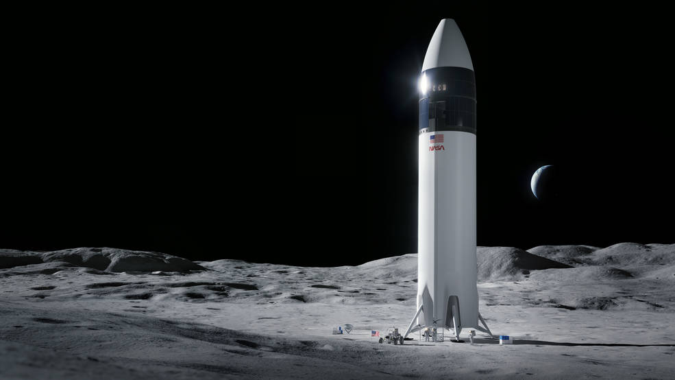 Starship SpaceX ganadora HLS Artemis