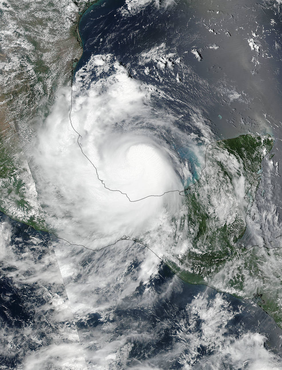 Suomi NPP Image of Franklin