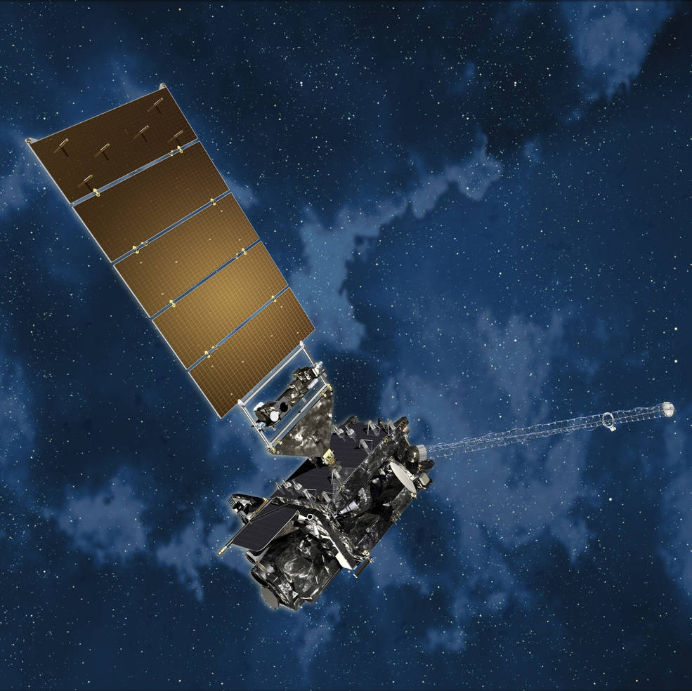 artists concept of satellite