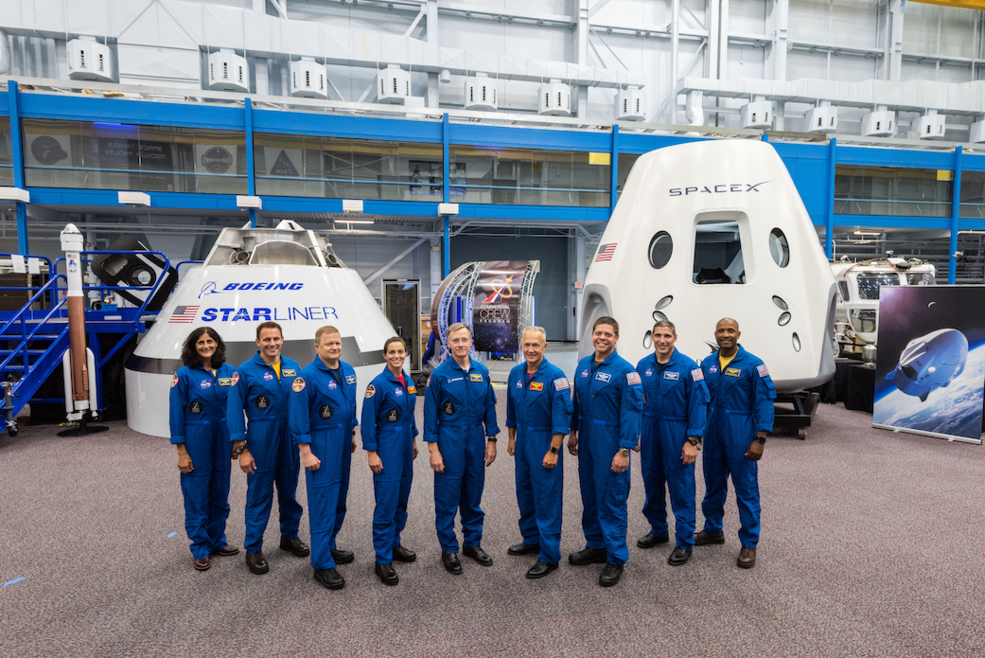 NASA introduced to the world on Aug. 3, 2018, the first U.S. astronauts who will fly on American-made, commercial spacecraft