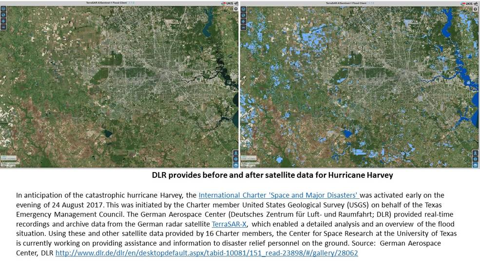 New NASA Maps Show Flooding Changes In Aftermath Of Hurricane - Us map after flooding