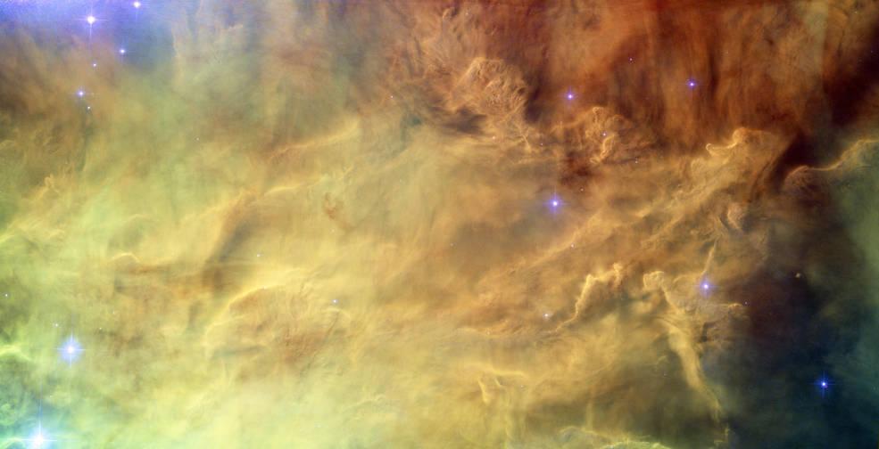M8, the Lagoon Nebula (Hubble image)