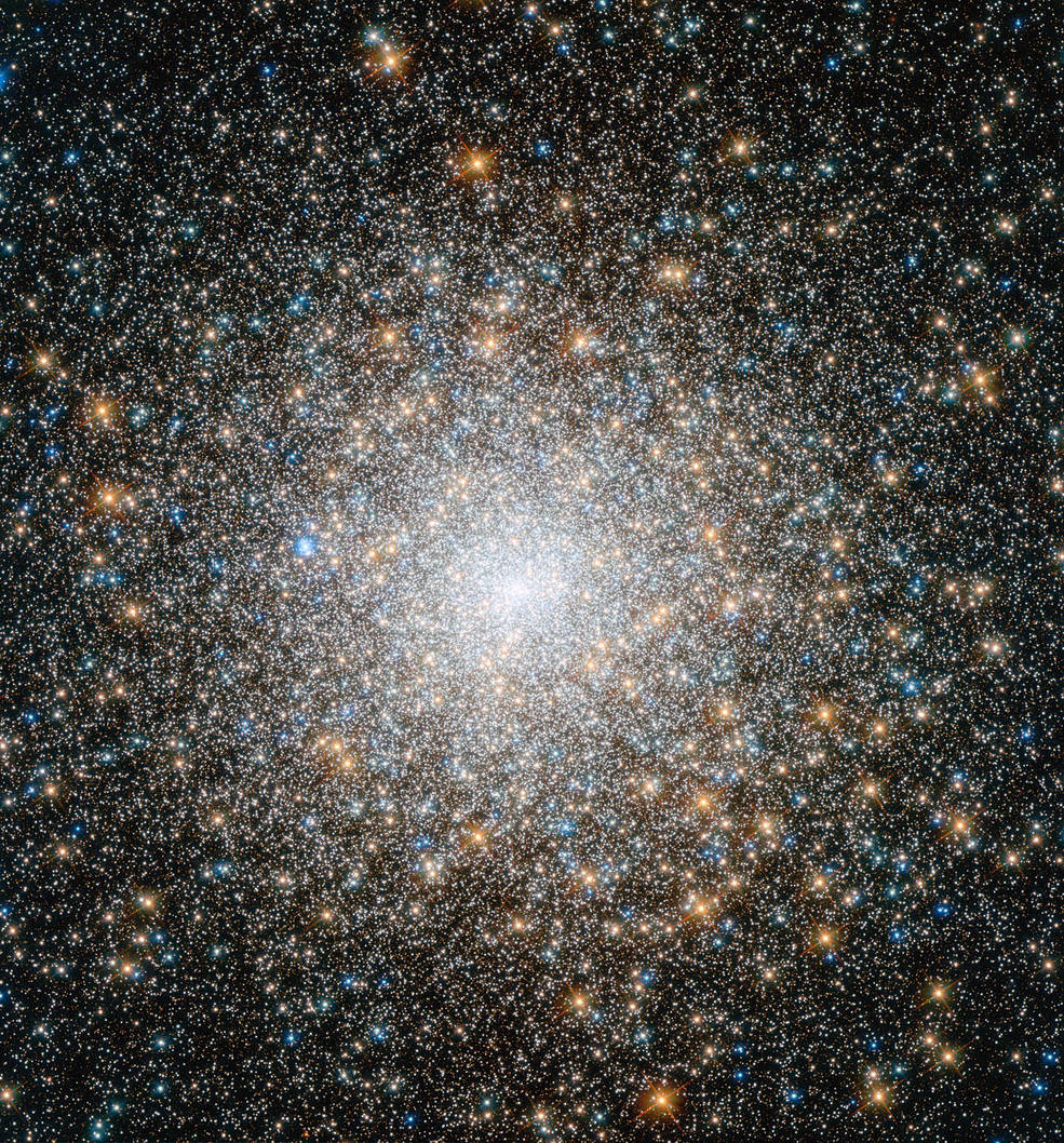 Hubble view of M15