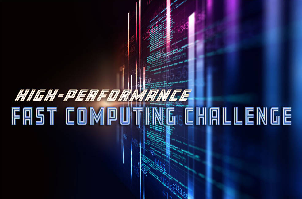 High-Performance Fast Computing Challange slide