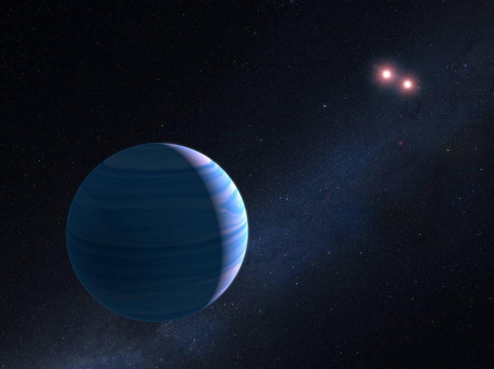 Exoplanet om dobbeltstjerne