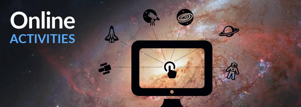 Hubble Online Activities Banner