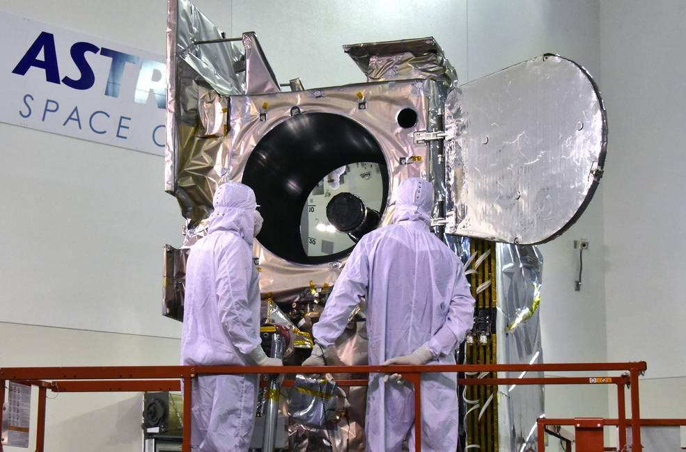 NASA's ICESat-2 spacecraft undergoing final testing