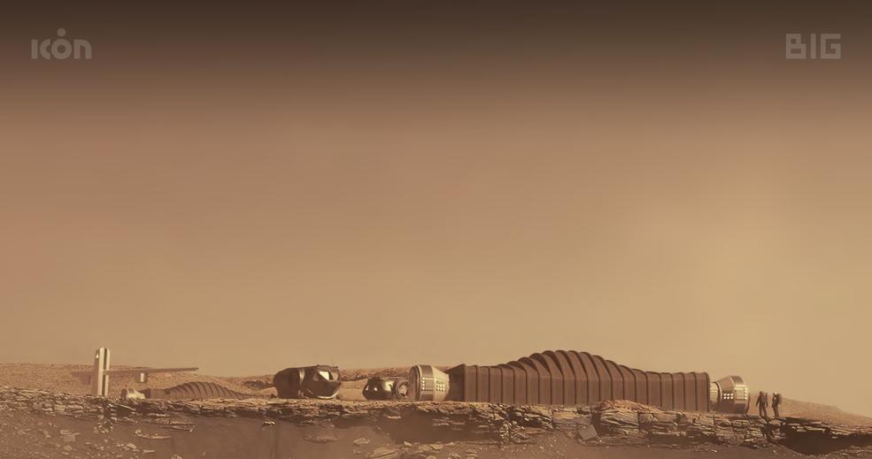 ICON NASA CHAPEA MARS Dune Alpha