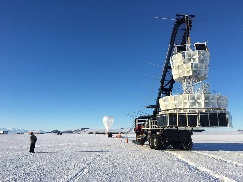 Balloons on Ice: Launch # 2 Takes Flight in Antarctica