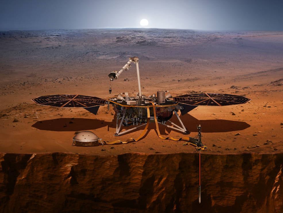 NASA's Interior Exploration using Seismic Investigations, Geodesy and Heat Transport (InSight)