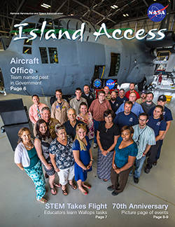 Cover of WFF July 2015 Island Access.