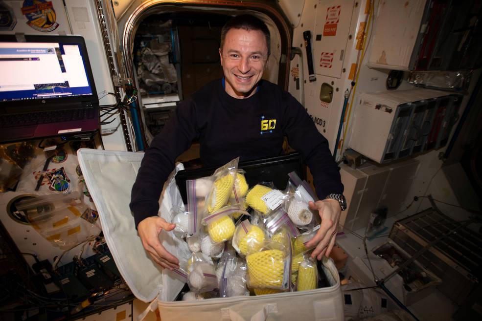 NASA astronaut Andrew Morgan