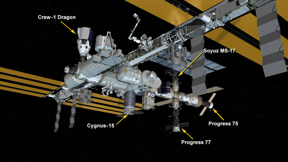 Falcon 9 (Crew Dragon USCV-1) - KSC - 16.11.2020 - Page 12 Iss_04-05-21