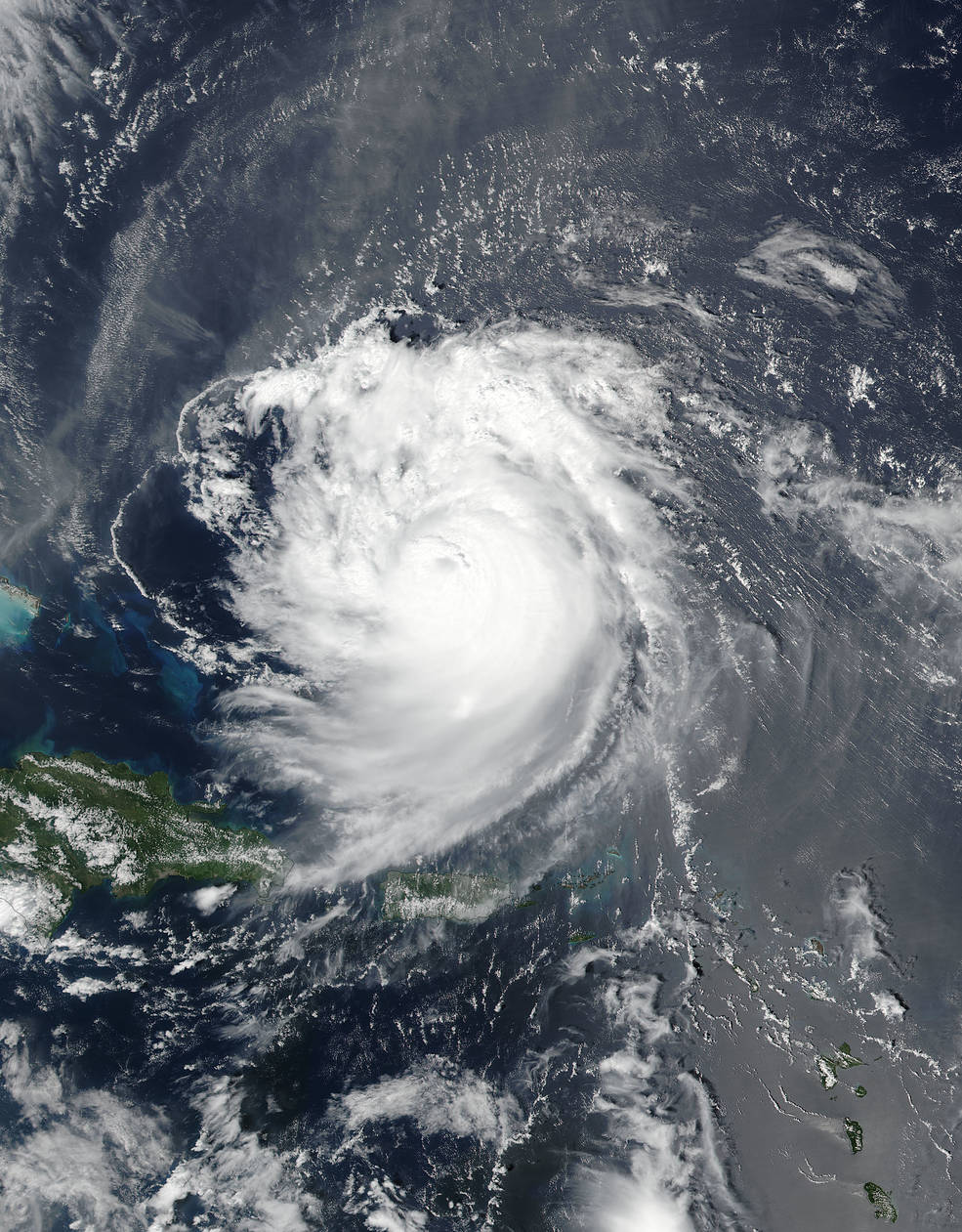 Suomi NPP image of Jose