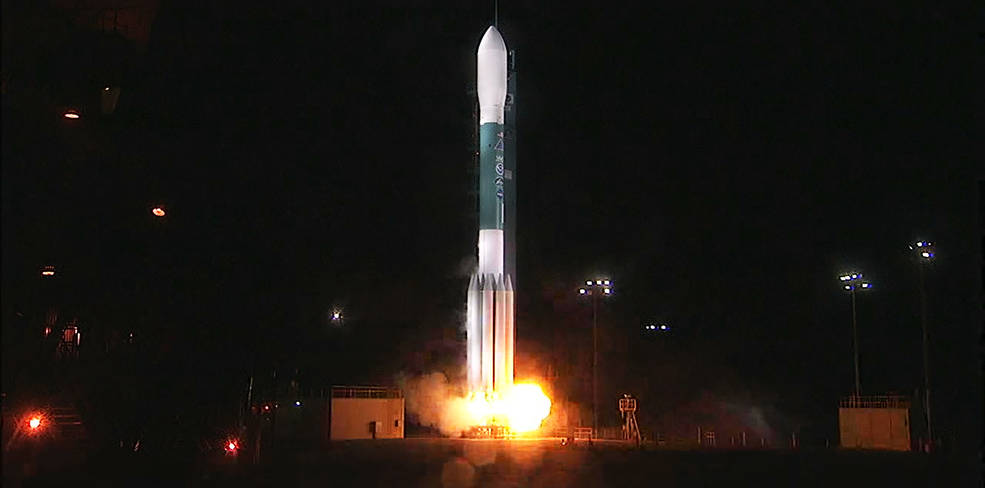 Delta II Rocket Roars to Life Launching JPSS-1