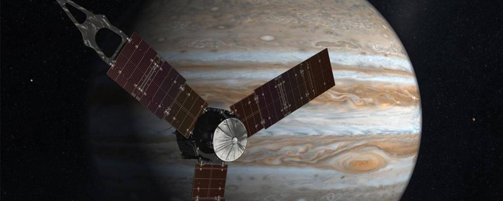 NASA's Juno Spacecraft in Orbit Around Mighty Jupiter