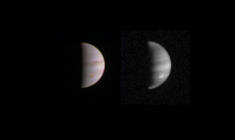 Dual view of Jupiter