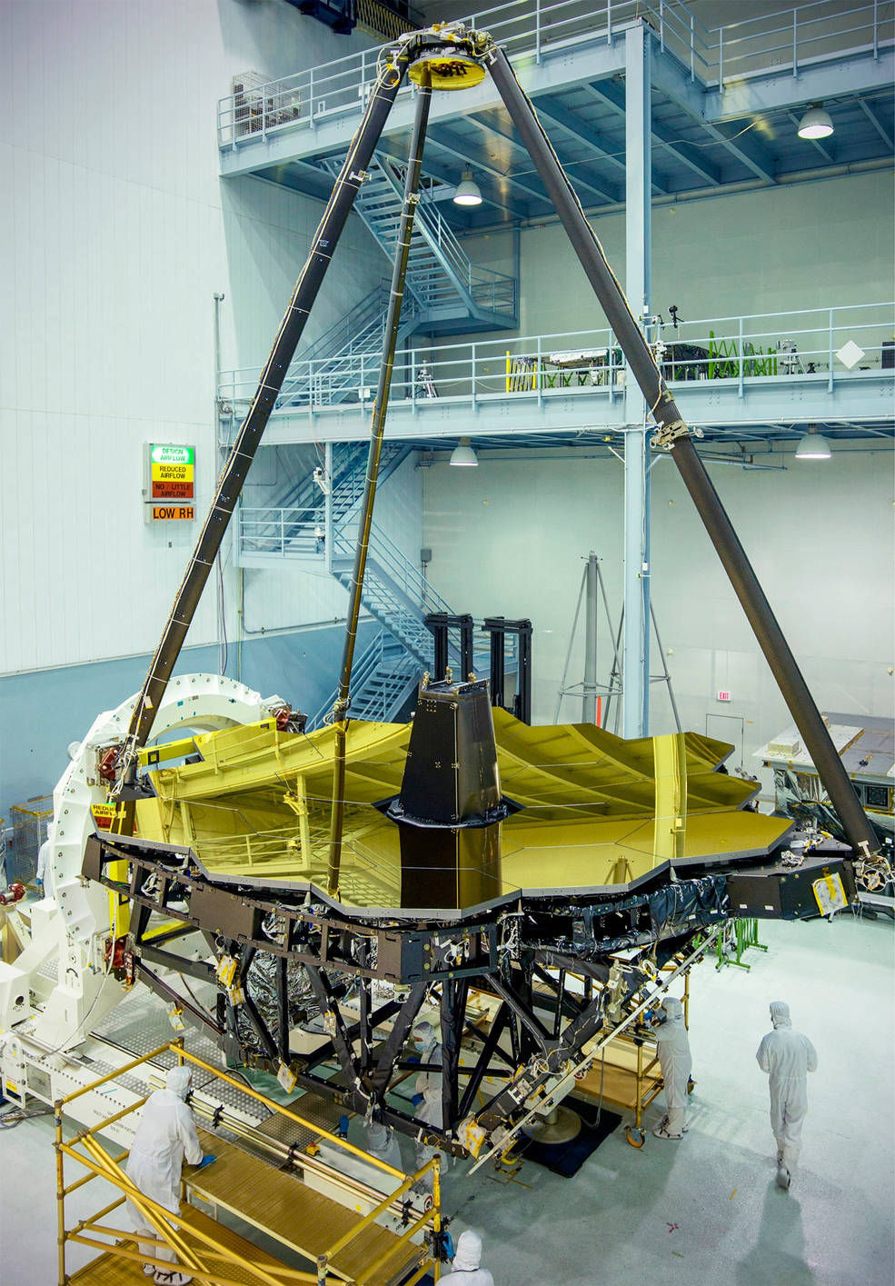 JWST in the clean room
