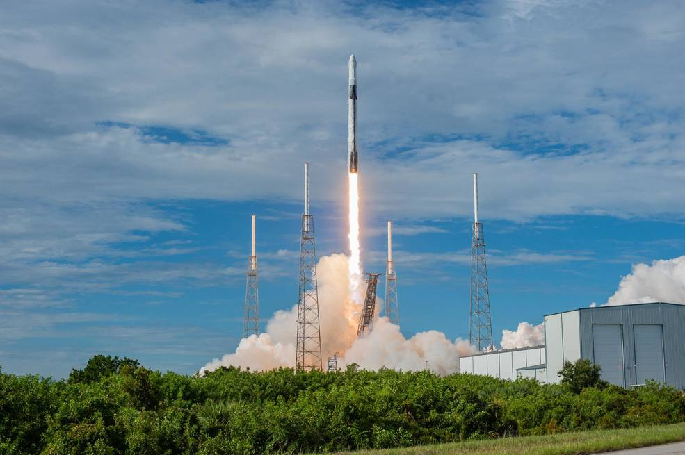 SpaceX Falcon 9 rocket lifts off from Space Launch Complex 40 at Cape Canaveral Air Force Station in Florida July 25, 2019