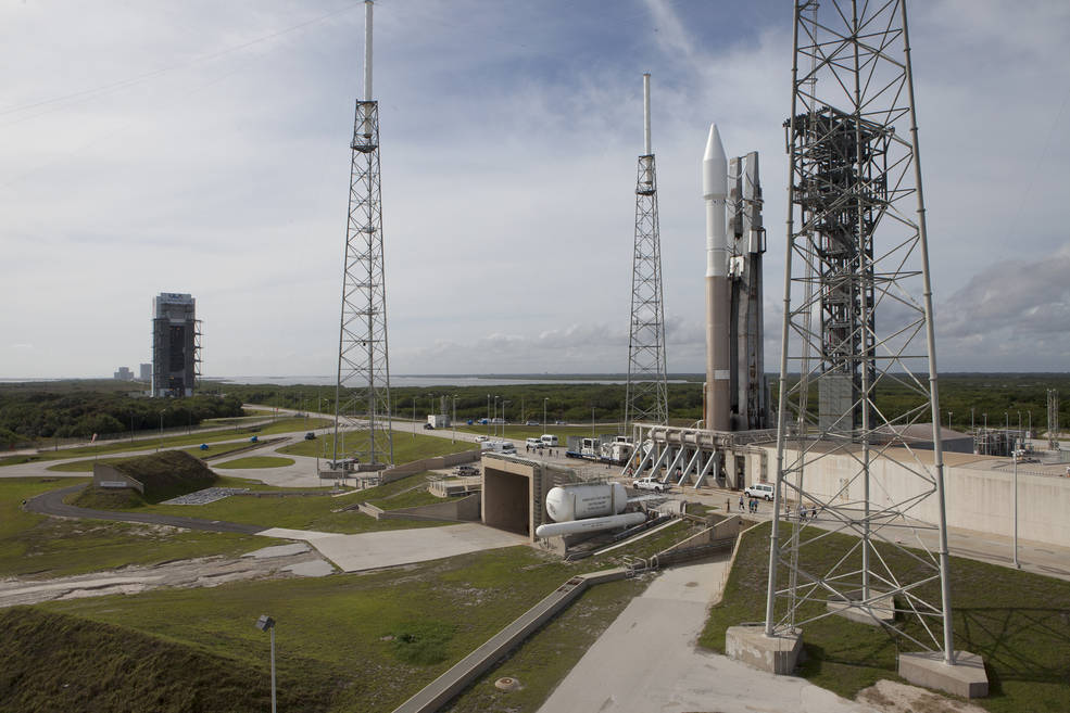 The United Launch Alliance Atlas V rocket