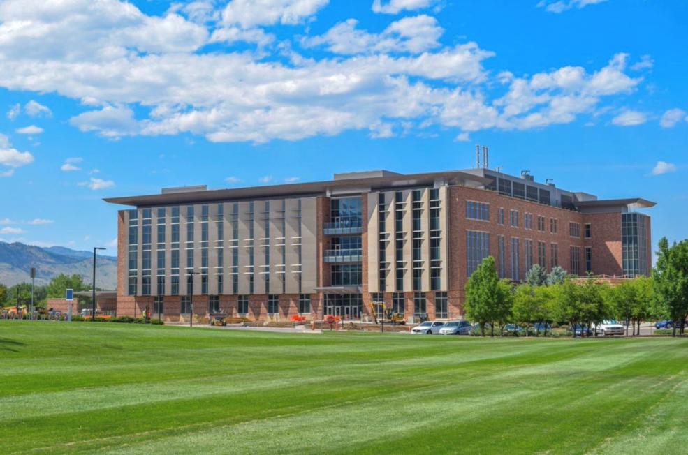 University of Colorado Boulder Aerospace Engineering Sciences complex
