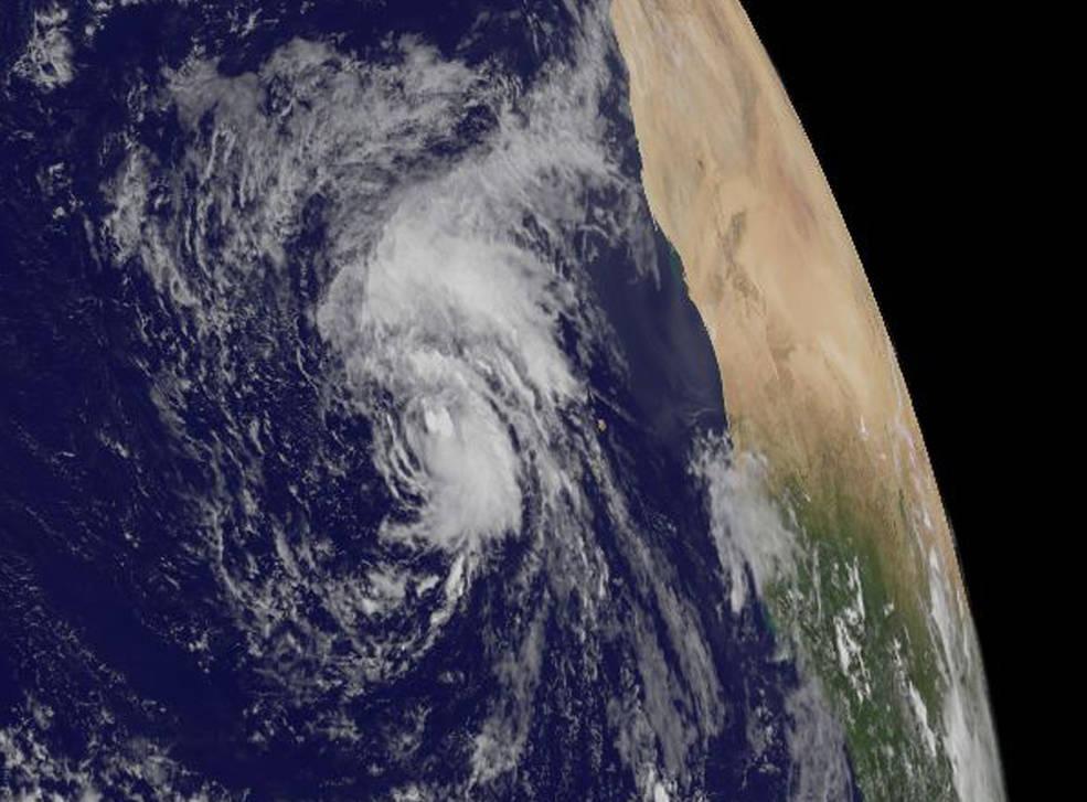 GOES-East image of Lisa