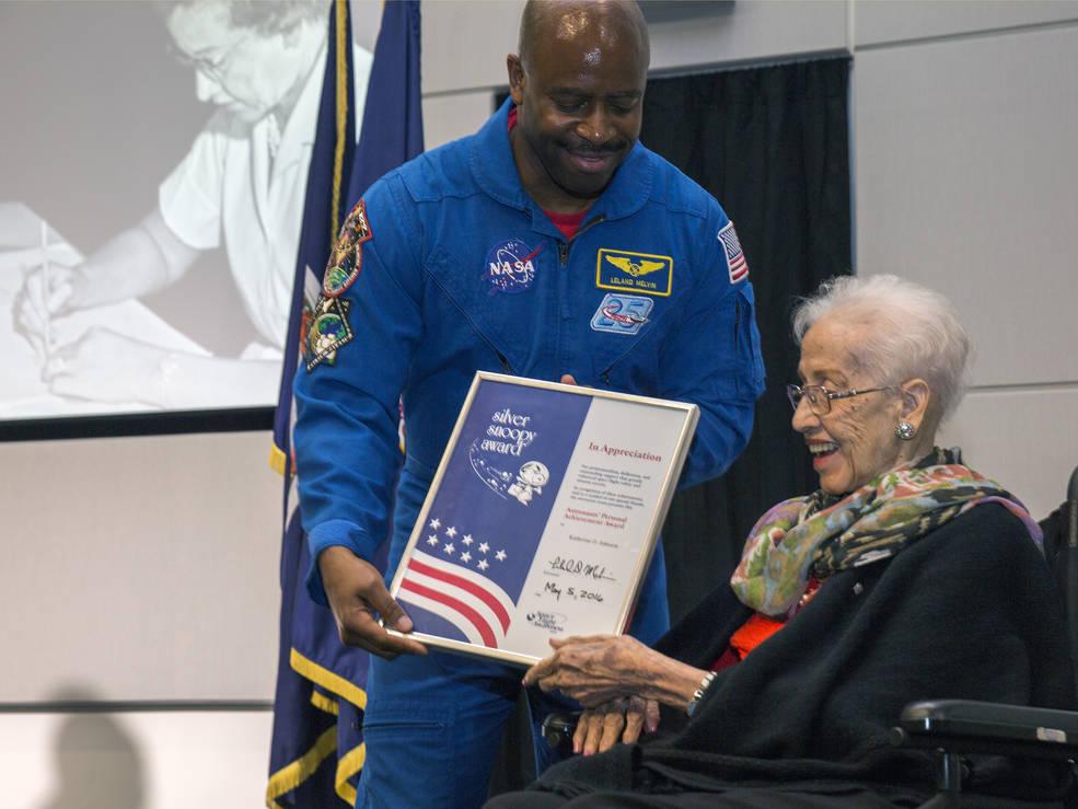 Katherine Johnson, l'Afro-américaine pionnière de la navigation astronomique