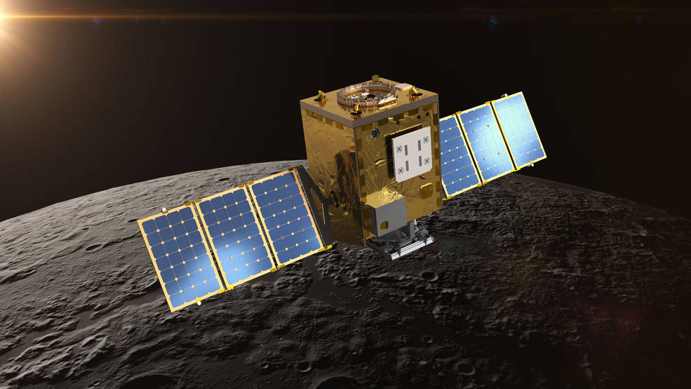 Lunar Trailblazer - Cartographie de l'eau sur la Lune - Février 2025 Lunar_trailblazer_illustration