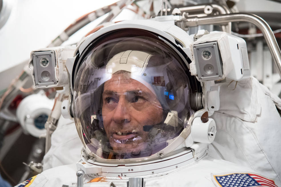 Expedition 53 crew member Mark Vande Hei