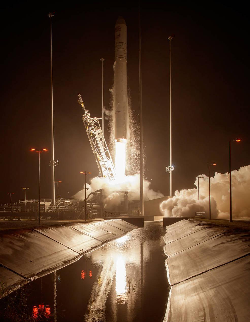 Orbital ATK cargo resupply flight