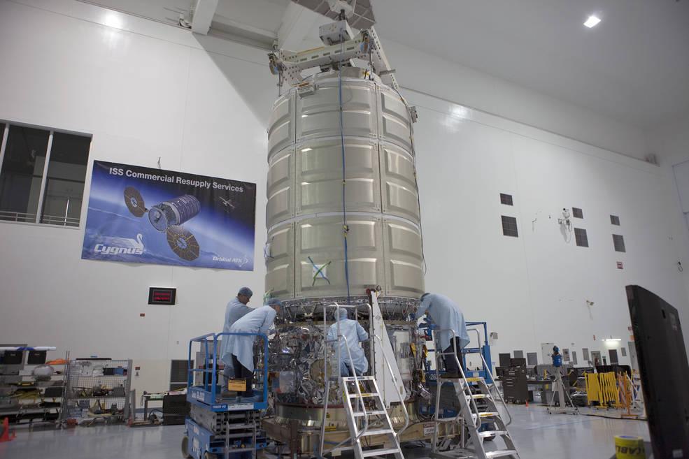 Orbital ATK's Cygnus spacecraft