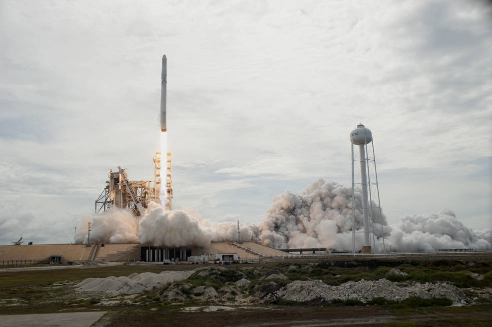 A SpaceX Dragon will deliver about 4,800 pounds of research, hardware and crew supplies to the International Space Station.