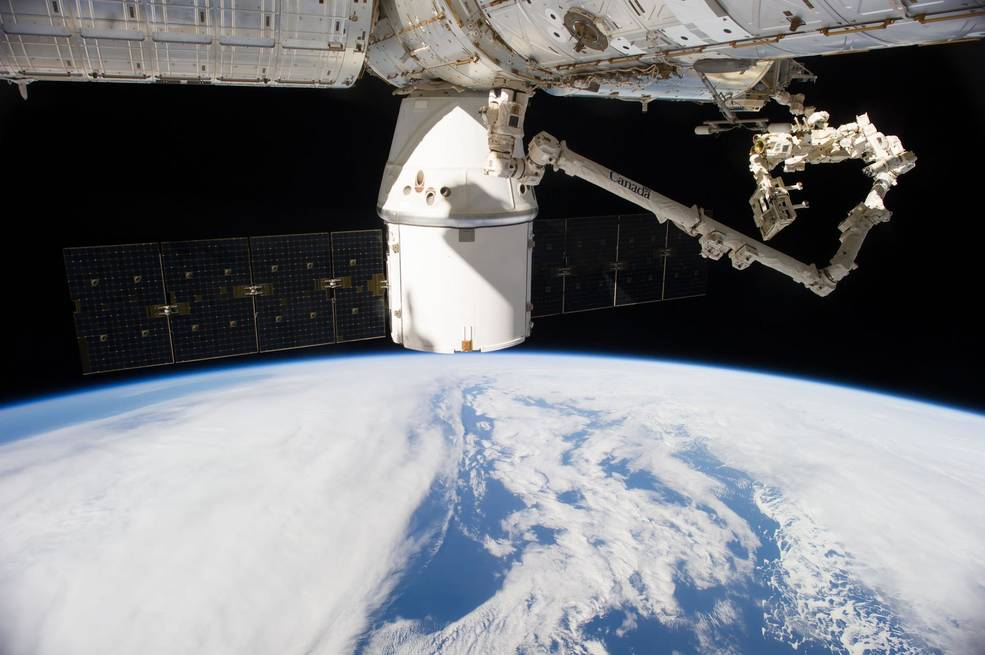 A SpaceX Dragonbound for the International Space Station is targeted to launch on a Falcon 9 rocket