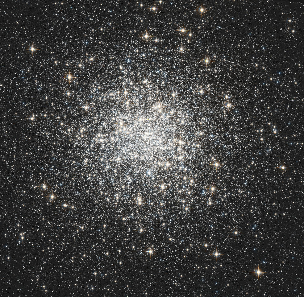 Hubble view of M3