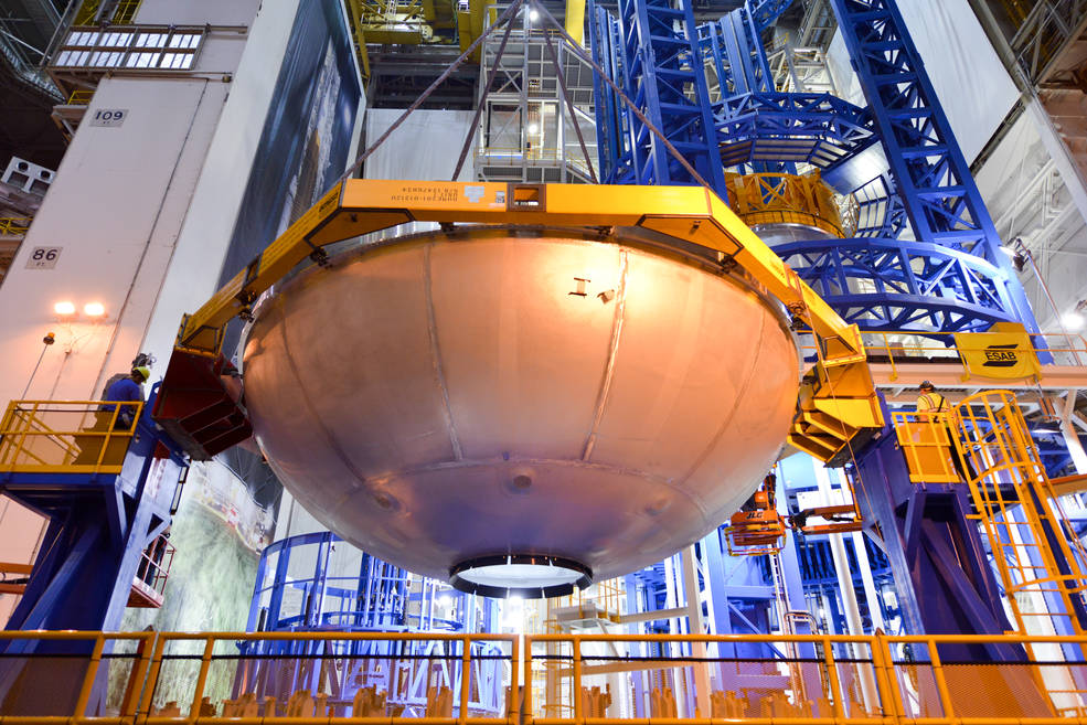Engineers Prepare to Resume Welding SLS Test Article