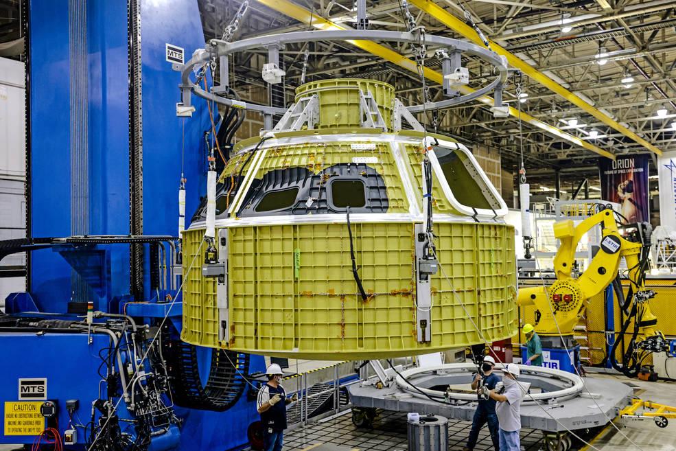 Orion pro misi Artemis III