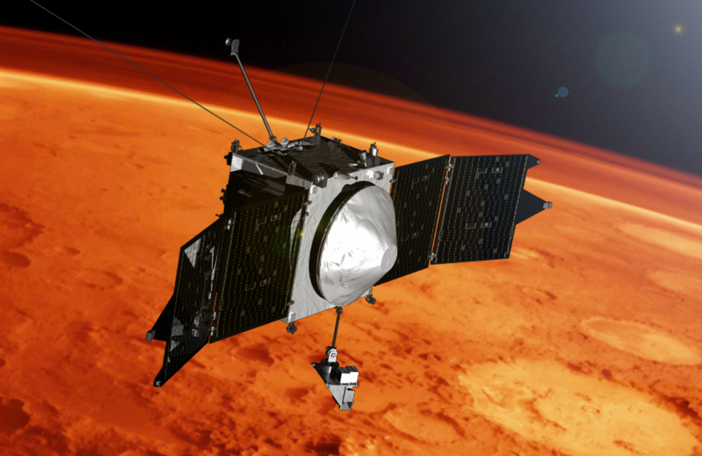 MAVEN spacecraft at Mars