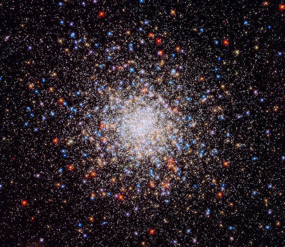 This Hubble image captures Caldwell 78 (or NGC 6541), a globular star cluster roughly 22,000 light-years from Earth.