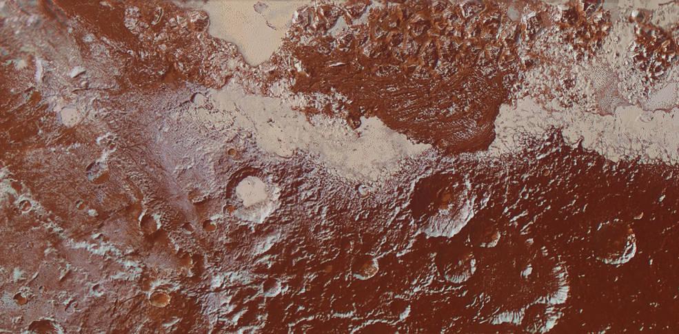 Pluto's surface diversity