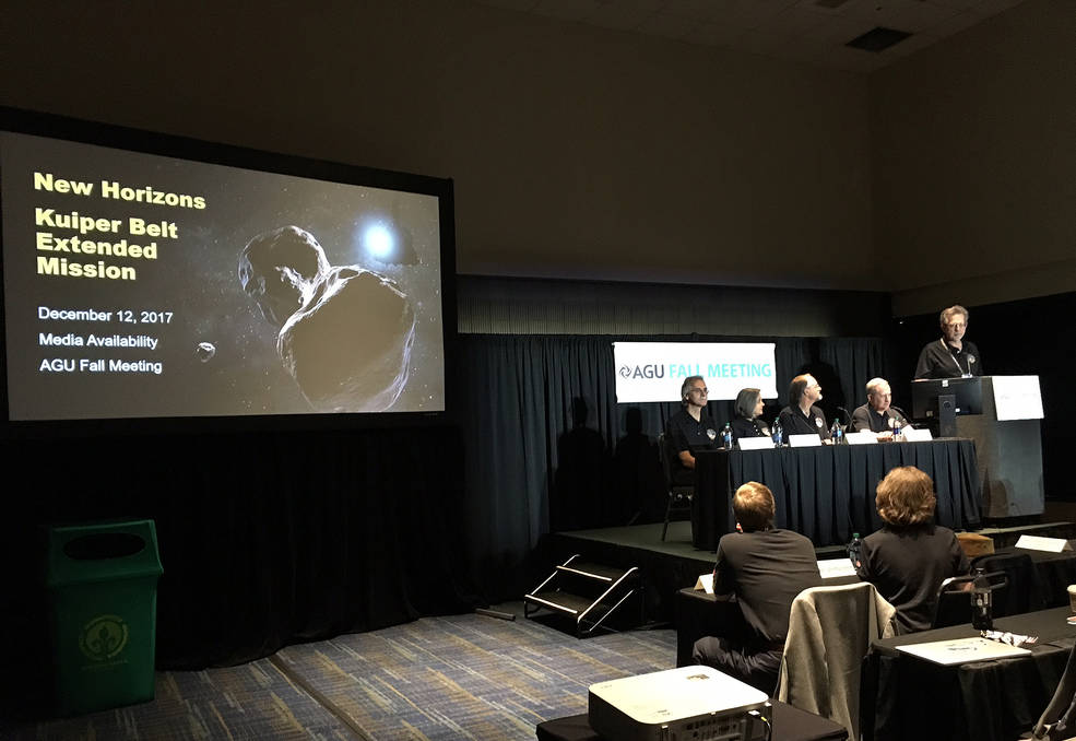 New Horizons team members discuss the Kuiper Belt Extended Mission