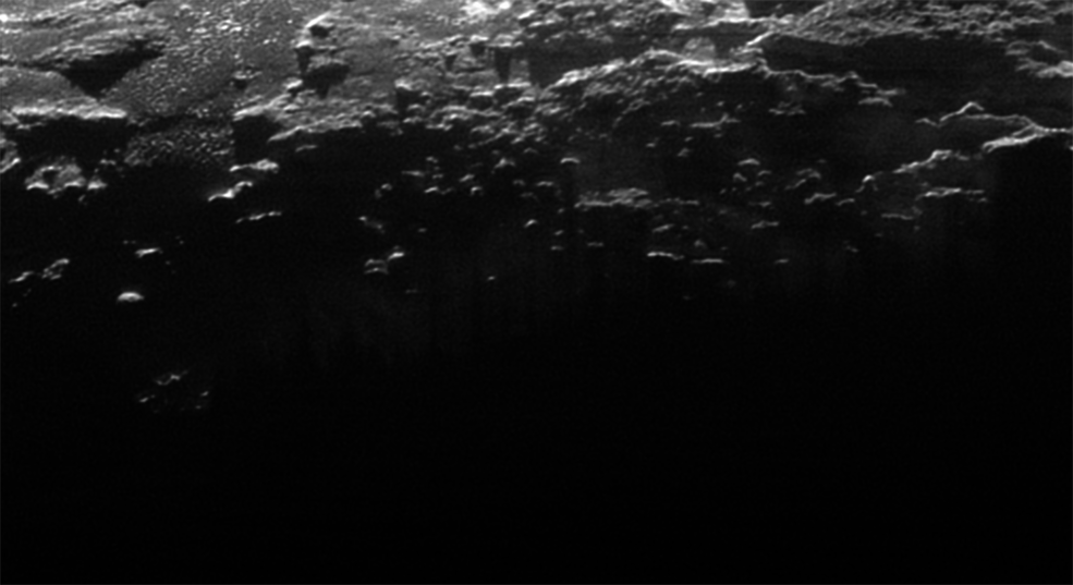Near Surface Haze or Fog on Pluto