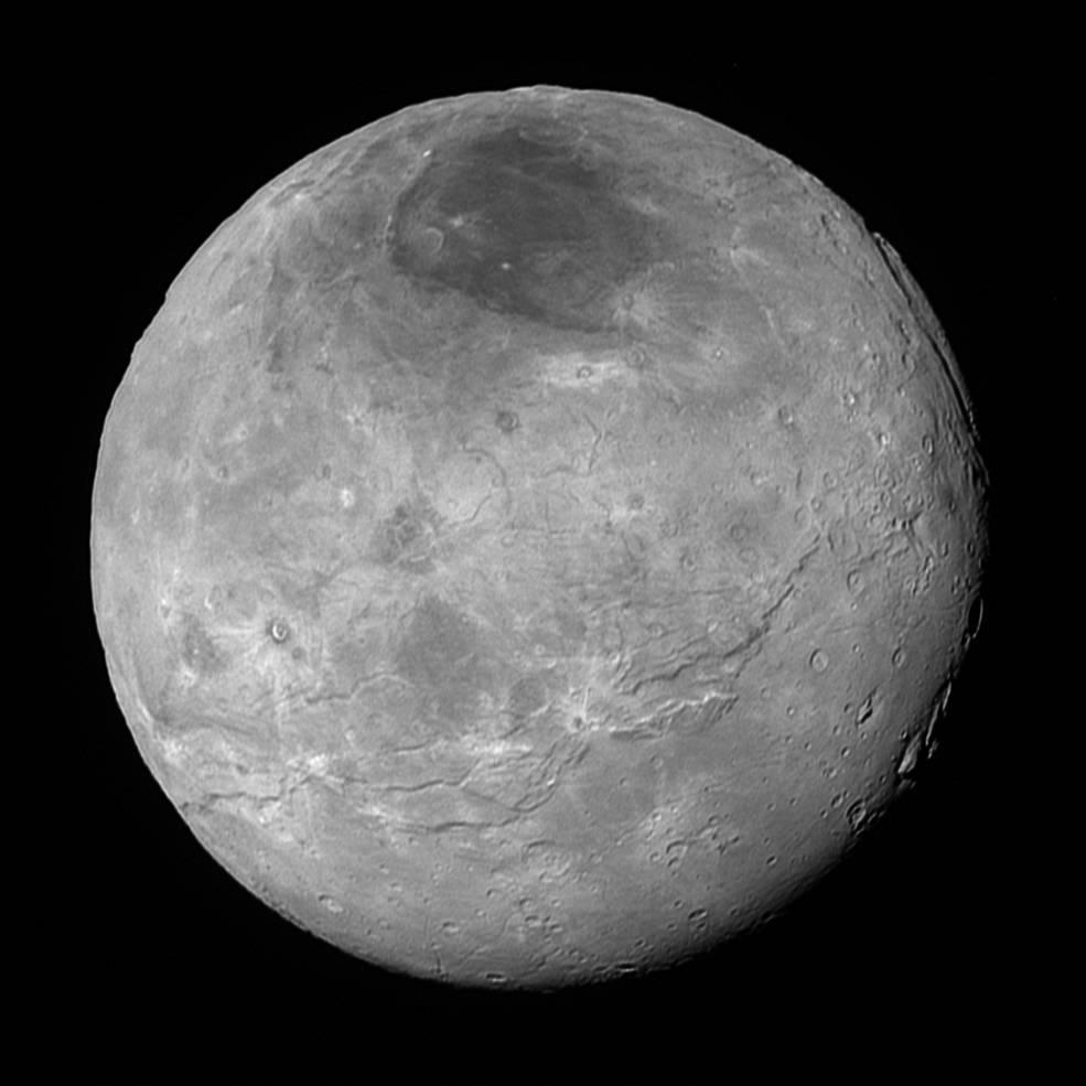 Pluto's largest moon Charon
