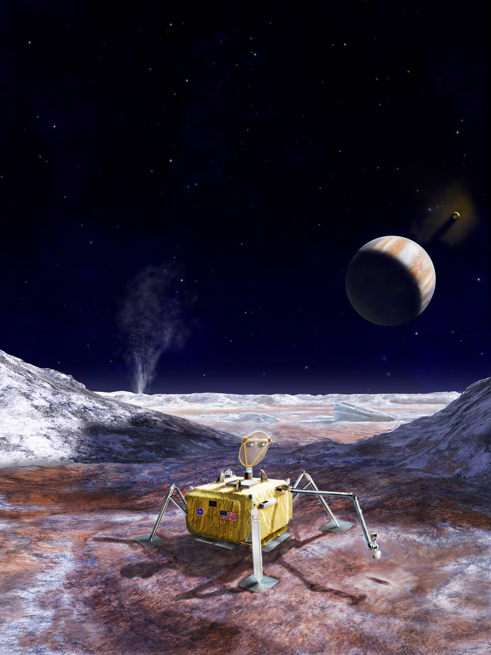 NASA Receives Science Report on Europa Lander Concept – TSS