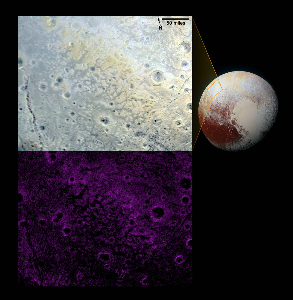 New Horizons Spots Rare Terrain On Pluto (nasa.gov)