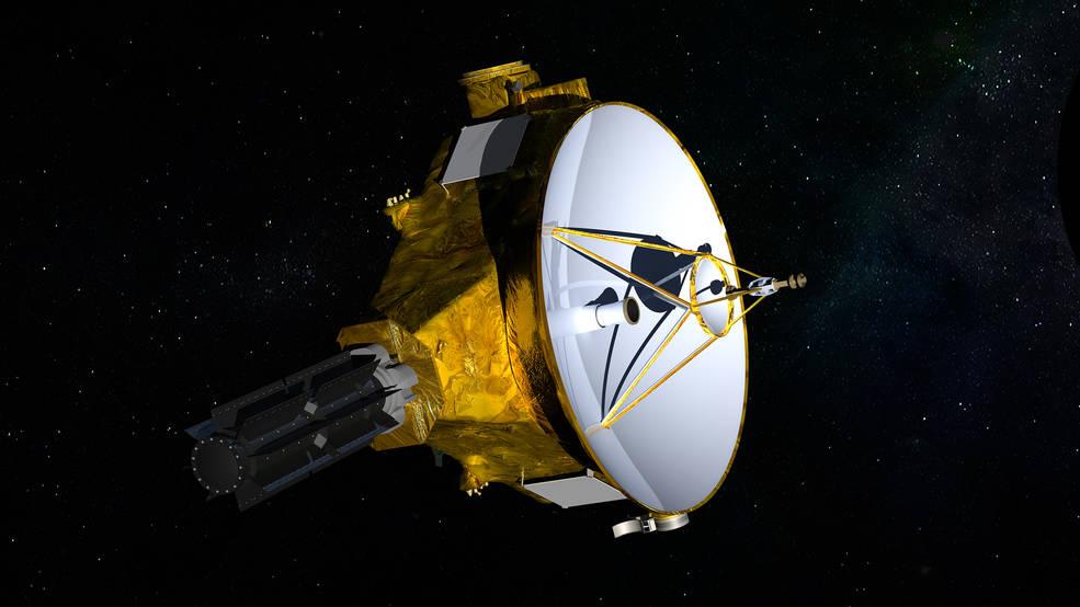 La misión New Horizons de la NASA alcanzó un hito espacial poco común