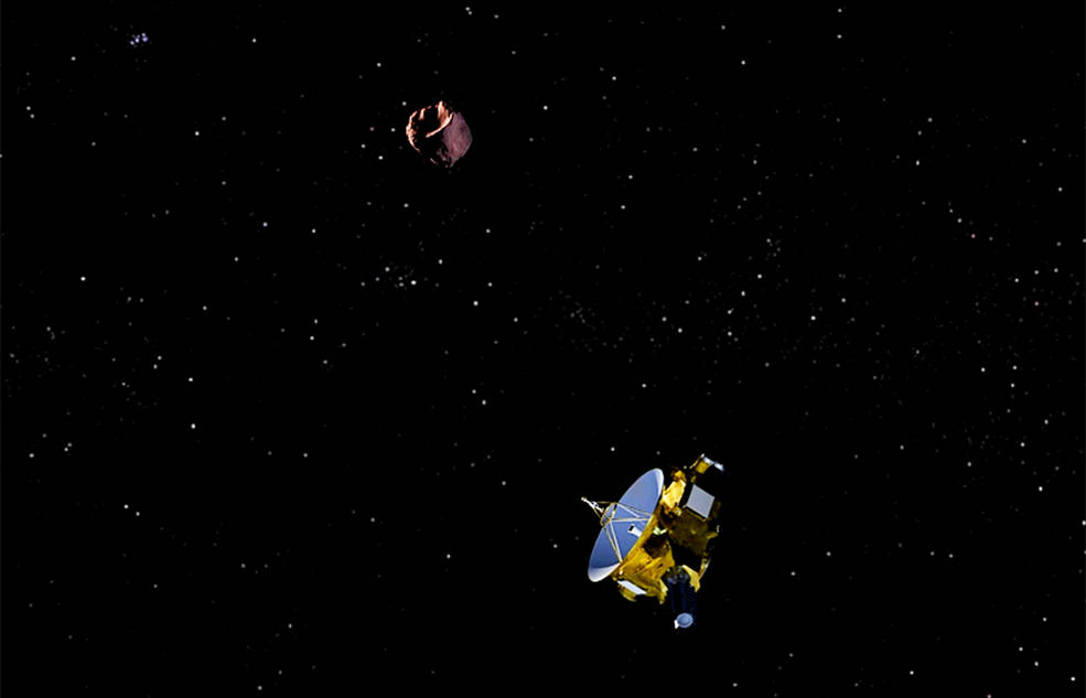 New Horizons and Kuiper Belt Object
