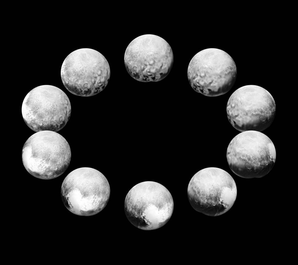 Et døgn på Pluto