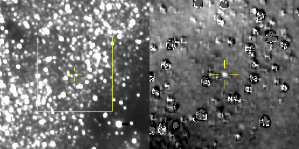 Ultima in View: NASA's New Horizons Makes First Detection of Kuiper Belt Flyby Target Nh_ultima_thule_first_detection_v3