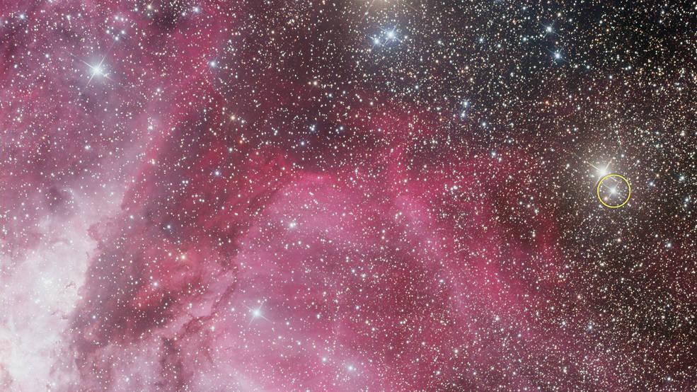 Carina Nebula and Nova